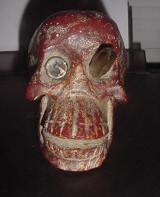 Mysterious Red Agate Quartz ? Stone Skull ~ Cydonian ? Nephilim ? Et ? A+