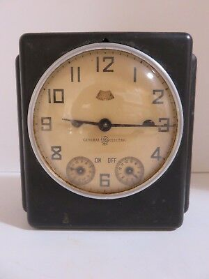 """Vintage General Electric """"Electric Range Timer"""" Not Working, Display Only"""