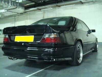 Duck Tail Style Wing Spoiler 3-pcs for Mercedes w124 Coupe AMG 300CE 320CE