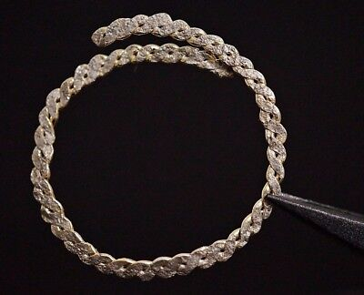 Ancient Viking GOLD Gilded Ring. Norse Silver Openwork Relic, circa 950-1000 AD.
