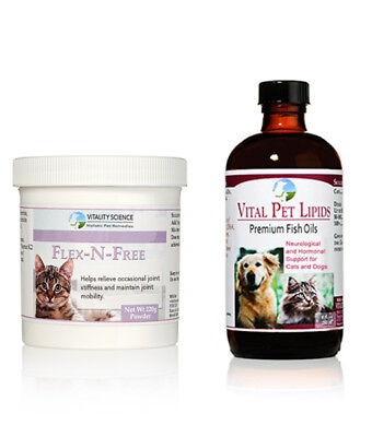Flex + Lipids for Cats | 2 Part Joint Health Combo