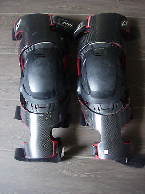 Pair Of Pod Knee Braces K700 Left Right Side Adult Large Good Condition