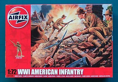 WWI AMERICAN INFANTRY - AIRFIX - Soldatini in plastica  scala 1/72