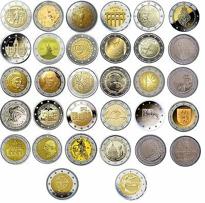 2 Euro commemorative 2016 - coins or coincards - UNC/BU quality