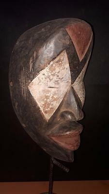 Old  Tribal Lwalwa Mask Gabon.......Fest- GB130