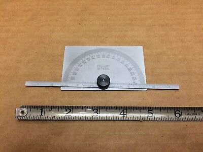 Starrett C493B Protractor and Depth Gauge