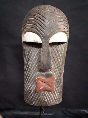 Old Tribal Songye Mask Congo Africa.........Festac gb2