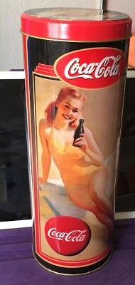 Vintage Ladies Coca-Cola Tin