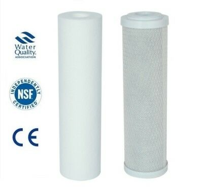 2 Pre Filters, Reverse Osmosis, Water Filter Replacement, Filter Cartridges, ro
