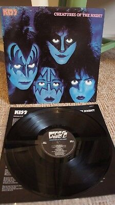 Kiss Creatures Of The Night 7 Inch Single Eur 1 40