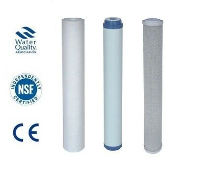 "1 Set Replacement 20"" Water Filters Window Cleaning Whole House Pond"
