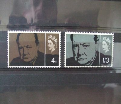 1965 - Gb Stamps -Churchill -- Mnh