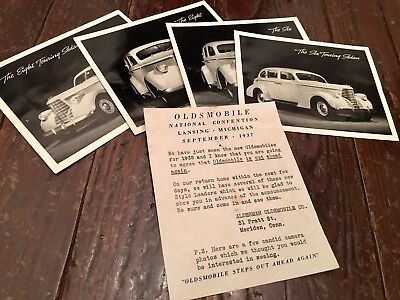 Oldsmobile 1937 Auto National Convention Advertising Photos