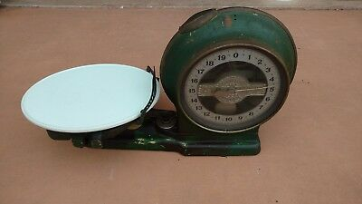 Antique Angldile Style 0 Scale Elkhart Indiana Springless Computing Scale