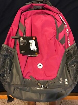 Under Armour UA Storm Hustle 3.0 Backpack BackPack Book Bag Pink