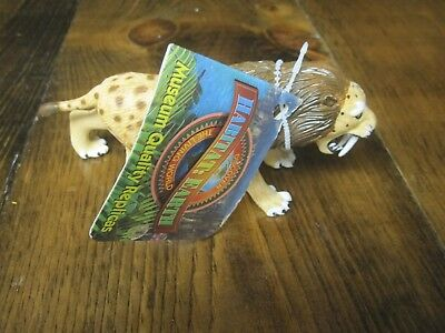HABITAT EARTH by PlayVisions ultra rare Smilodon figure--large set version