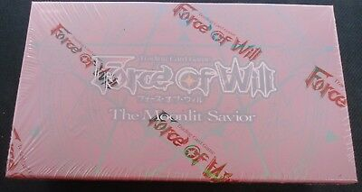 FOW The Moonlit Savior SEALED English 36 Booster Pack Box Force of Will