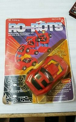 """Ro-bots"" lanyard knock off transformer from 1984"