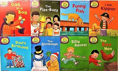 Brand New Oxford Reading Level 2  Biff Chip and Kipper 8 Books Set Collection