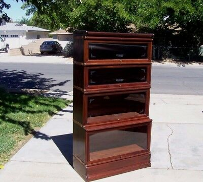"Antique ""E"" Macey Barrister / Lawyer  stacking bookcase, pickup in Lancaster,CA."