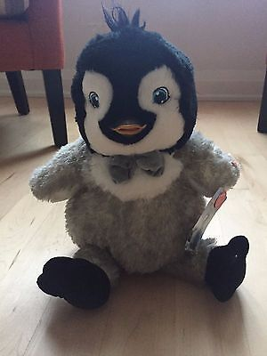New with tags!! Build A Bear Happy Feet Two Eric Limited Edition Plush Doll