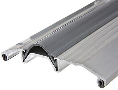 Frost King E/O 3-3/4 in. x 72 in. Wide Aluminum Silver Threshold Heavy Duty Seal