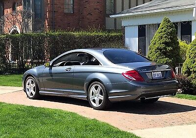 2008 Mercedes-Benz CL-Class AMG Package 2 Mercedes-Benz CL550 AMG P2 PREMIUM PKG II Nightvision NO RESERVE!!!!!!!!!!!!!!!!