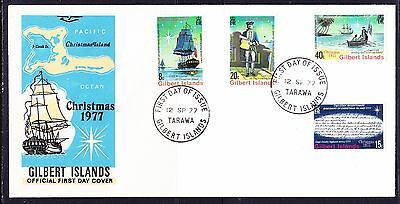 Gilbert Islands 1977 Christmas First Day Cover