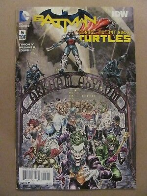 Batman Teenage Mutant Ninja Turtles #5 DC IDW 2015 TMNT 1st Print 9.6 Near Mint+