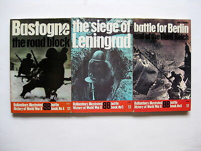 Ballantine's Illustrated History of World War II   battle book nos. 4, 5, 6