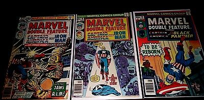 Marvel Double Feature. Lot of (3): #'s 17,19,20.