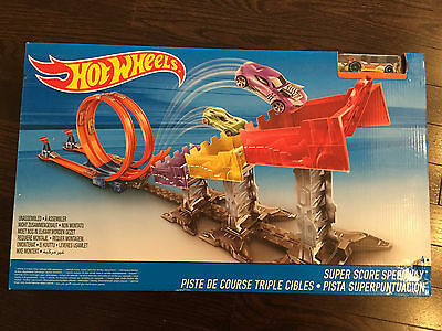Hot Wheels Super Score Speedway Mattel NIB