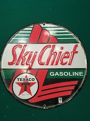 Original Sky Chief Metal Sign