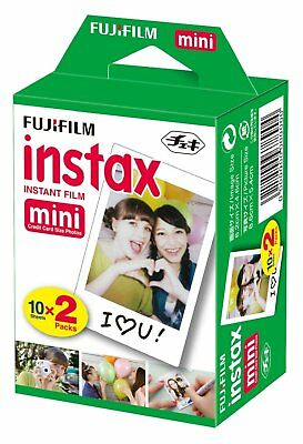 Fujifilm Instax Mini Double pack for instax mini cameras 10x2 pictures white