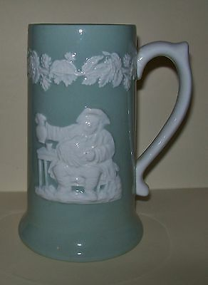 TALL VINTAGE SPODE 'FORTUNA' STEIN 15.5cm - made in England