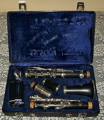 VINTAGE BUFFET B12 A PARIS CLARINET Crampon & Cie in original case (no handle)