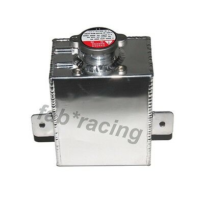 1.2L Aluminum Coolant Expansion Tank Radiator Overflow Recovery Bottle