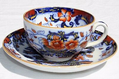 """Early 1900's MINTONS China """" AMHERST JAPAN"""" Cup & Saucer England"""