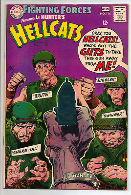 Our Fighting Forces #114 (Aug '68, DC) FN/VF
