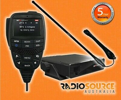Gme Xrs Connect Xrs-330C Super Compact Uhf/cb Radio + Axis Ch5T Black Antenna