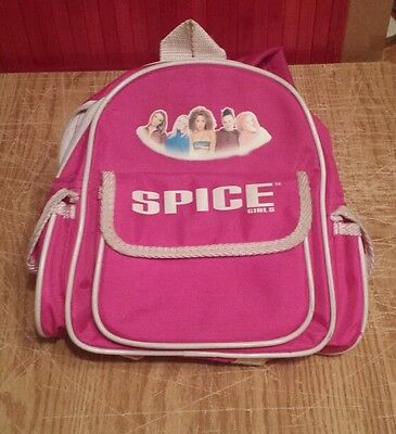 Spice Girls backpack Ginger, Sporty,Scary,Baby and Posh
