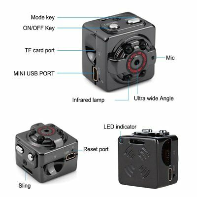 Hot Mini Smallest Camera Camcorder Recorder Video DVR Spy Hidden Night Vision US