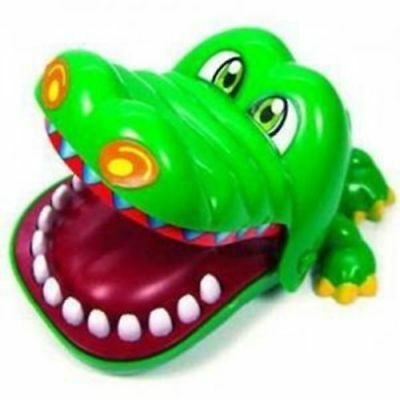 New Funny Crocodile Dentist Game Big Mouth Bite Fingers Prank Toys For Kids Gift