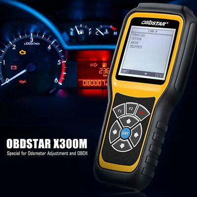 OBDSTAR X300M Odometer Correction Mileage Adjustment OBD2 OBDII Diagnostic Tool