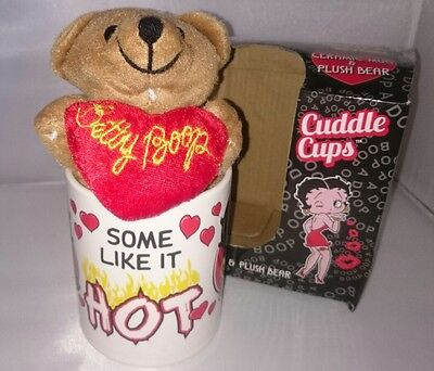 Betty Boop Collectible Mug & Bear Cuddle Cup King Features Some Like It Hot 2015