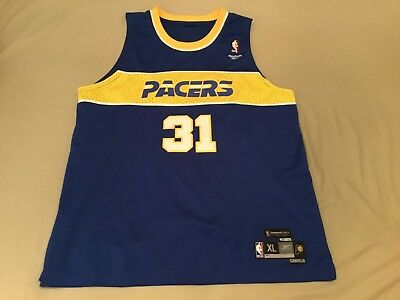 Reggie Miller Indiana Pacers Reebok Rookie 1987-88 Throwback Jersey (MENS  XL) dc8451041aa8