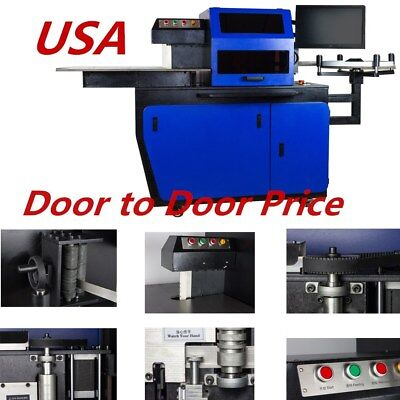 USA VING 220V Automatic CNC Metal Channel Letter Bender Bending Machine G13ESW