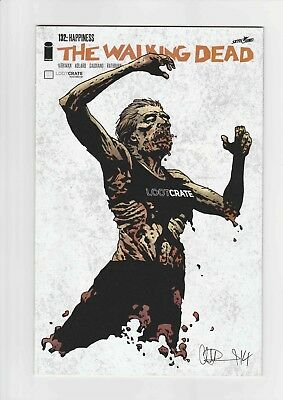 Walking Dead #132 Loot Crate Exclusive Variant Cover NM