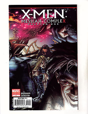 X-Men: Messiah Complex #1 (2007, Marvel) NM 2nd Print Variaint Chapter One