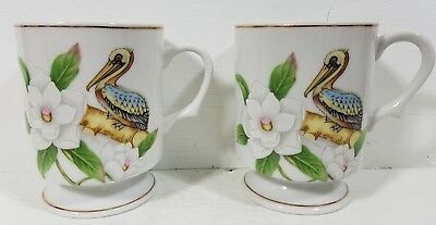 Louisiana World Exposition 1984 set of two coffee cups
